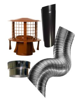 Woodburner Installation Kits